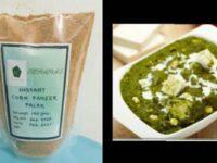 Instant Corn Paneer Palak Mix